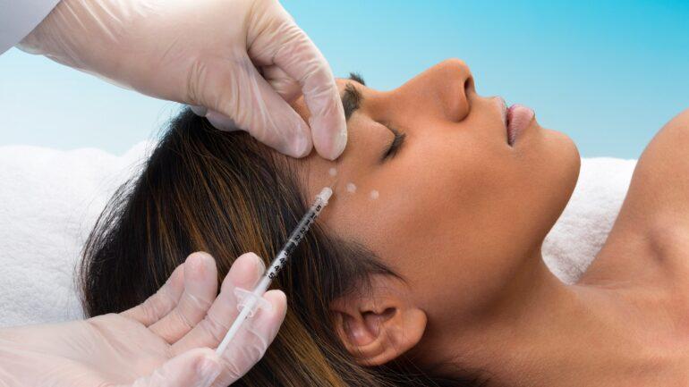 botox-cosmetic-injected